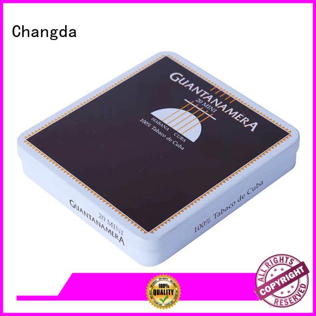 Changda cigarette tin box for customization