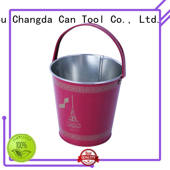 Changda metal tin bucket best-selling for customization