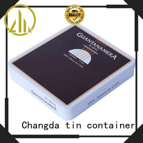 Changda cigarette tin box