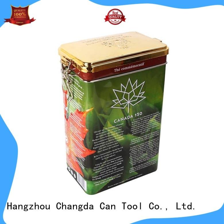popular tea tin can stainless food grade