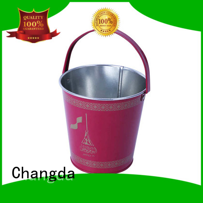 Changda tin bucket free sample fast delivery