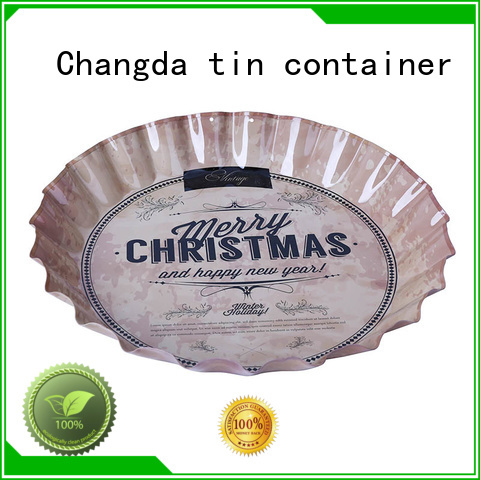 Changda oem&odm vintage metal trays factory supply for restuarant