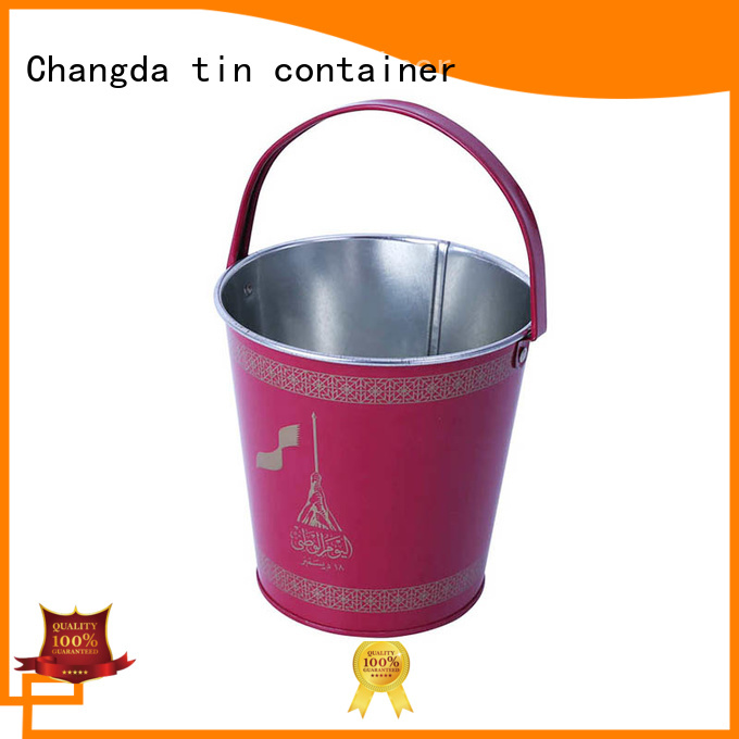 Changda metal tin bucket best-selling for packing