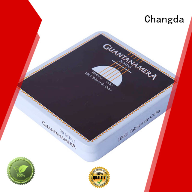 Changda cigarette tin best quality