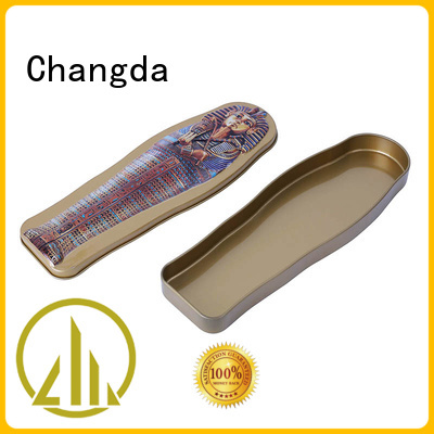 Changda promotional tin free sample fast delivery