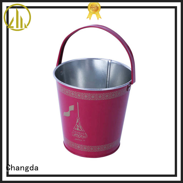 Changda metal bucket best-selling for customization