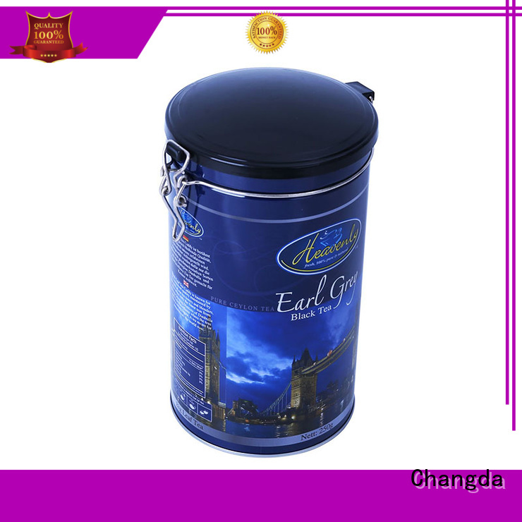 Changda hot-sale coffee tin box fast delivery free sample