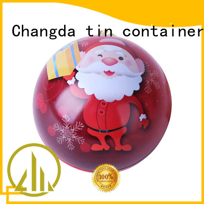 Changda tin ball professional manufacturer for gift packing