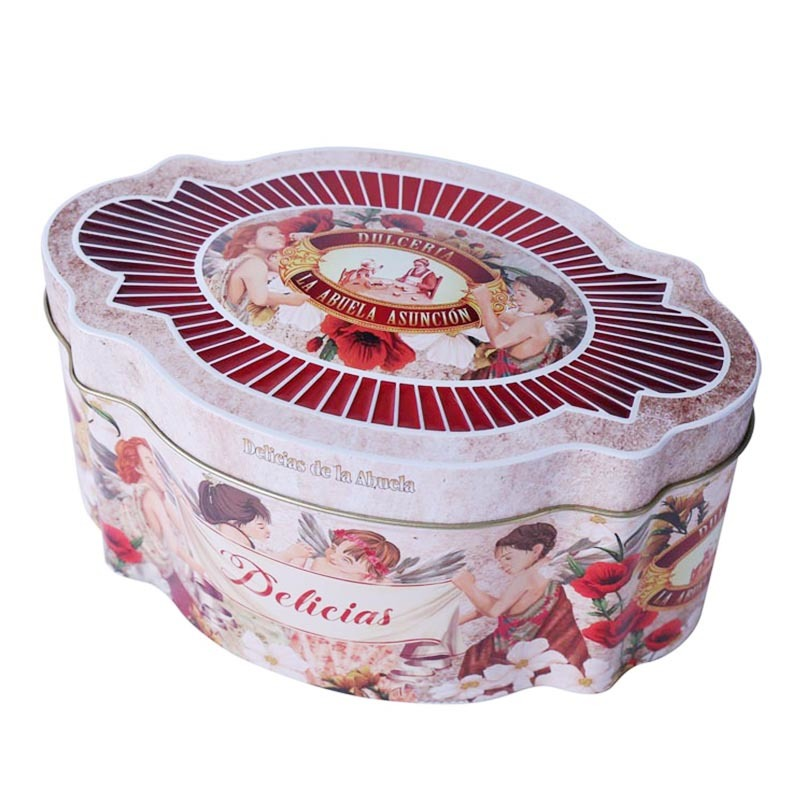 Changda custom empty cookie tins food-grade quality