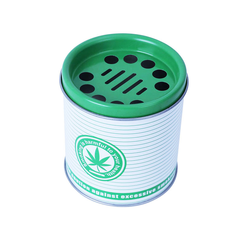 competitive price for Changda custom ashtrays from stainless tin