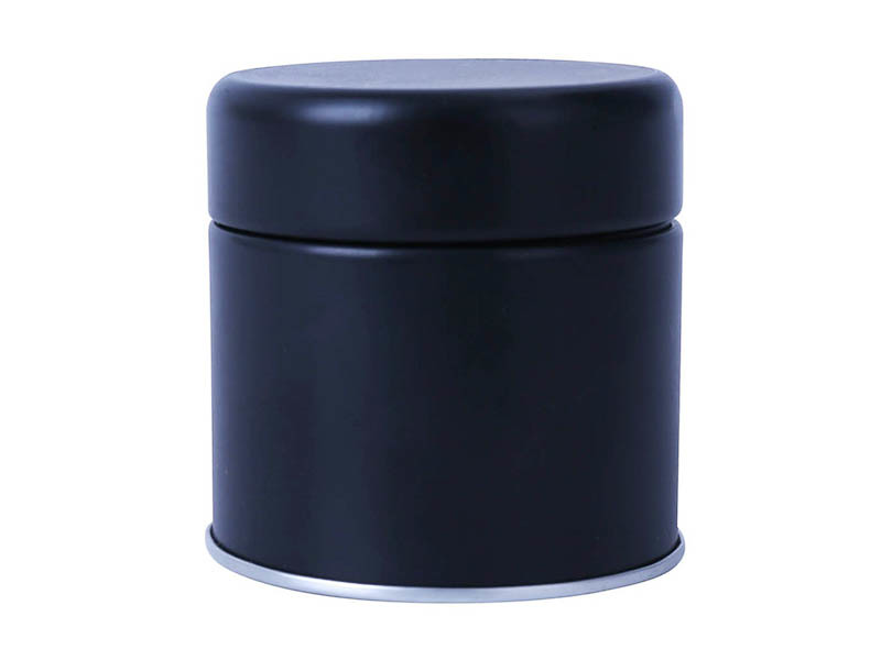 matte metal tin box