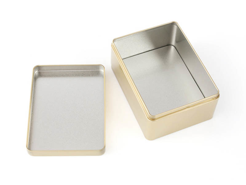 stainless frosted tinplate box