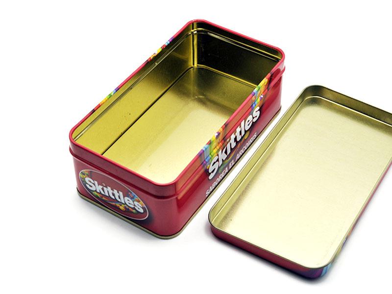 smooth tinplate box