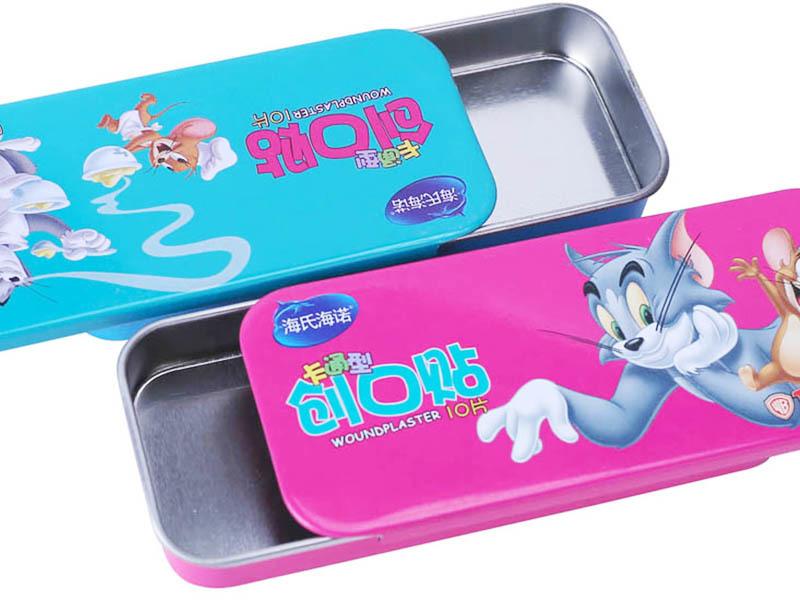 slide-lip tin case