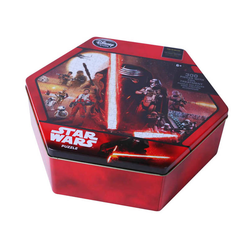factory direct supply for best puzzle tin box