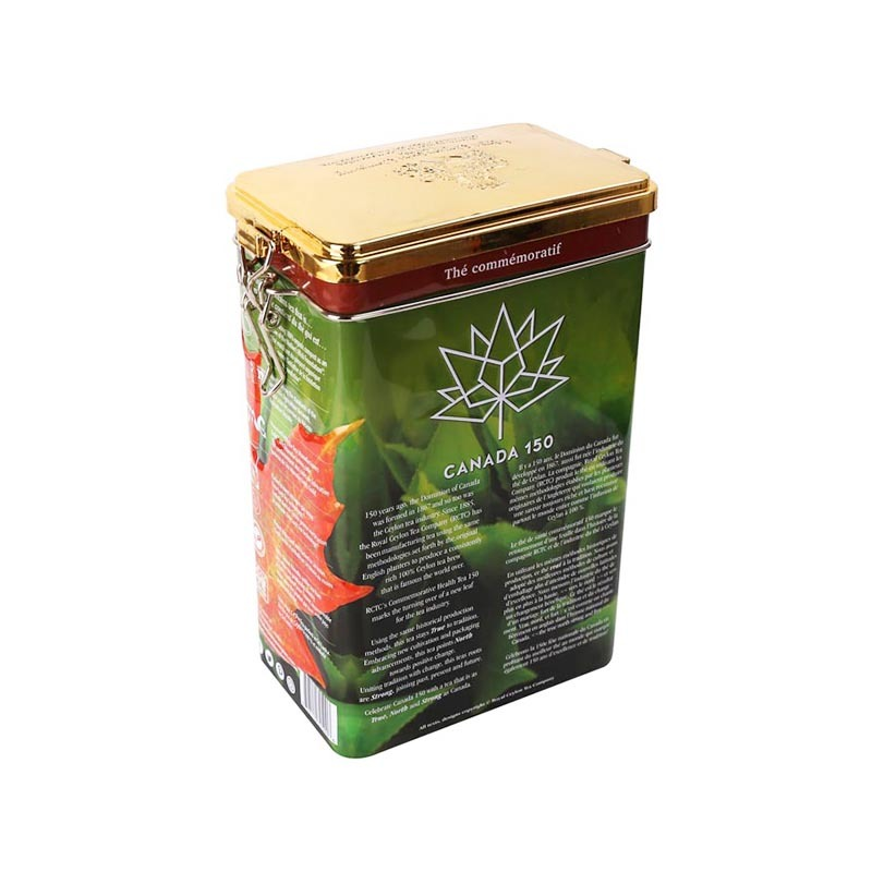 2019 best-selling Changda tea storage tins for tea packing