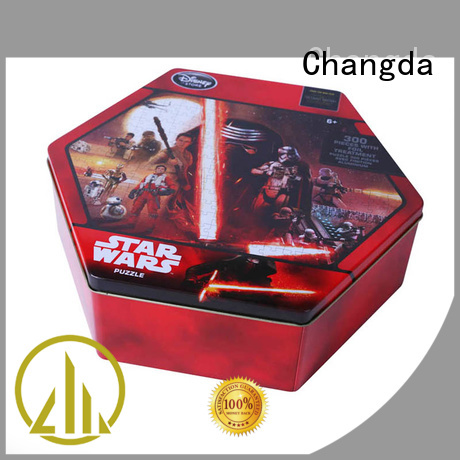 Changda bulk supply puzzle tin best factory price