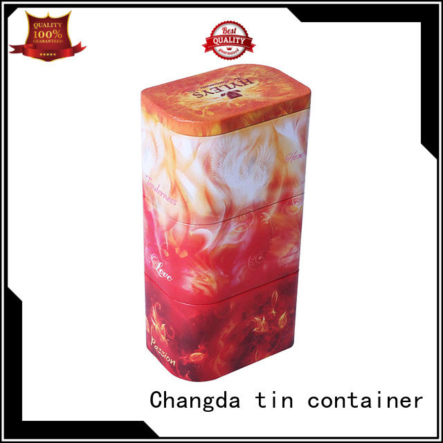 Changda high quality coffee container beautiful design free sample