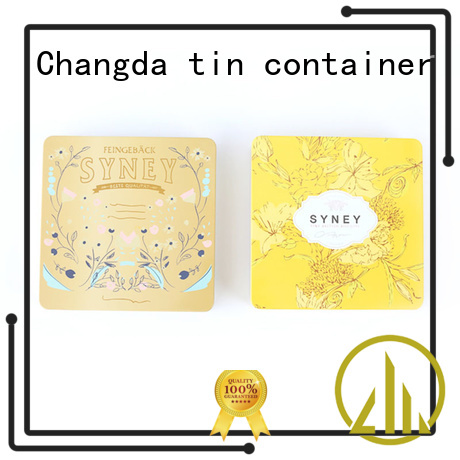Changda tin cosmetic containers