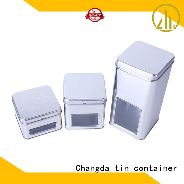 Changda popular tin box set factory supply