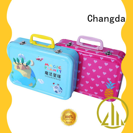 Changda bulk supply stainless lunch box free sample
