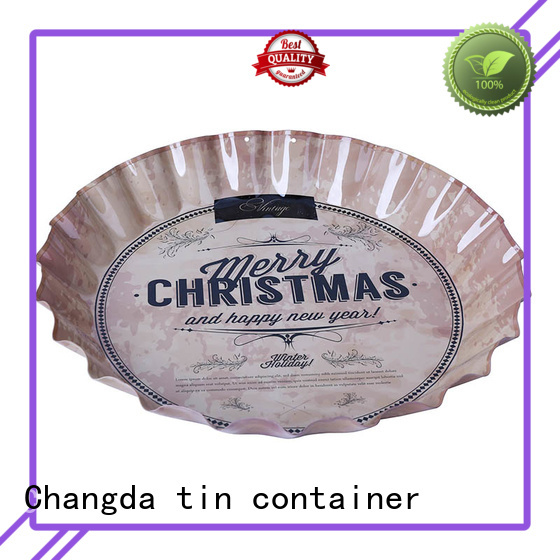 oem&odm metal serving tray wholesale for wholesale