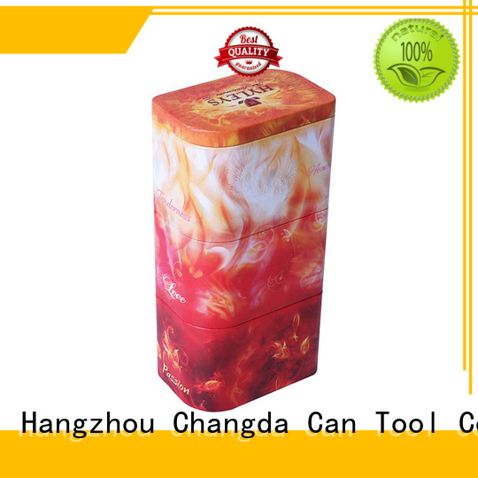 Changda metal tins wholesale light weight for gift