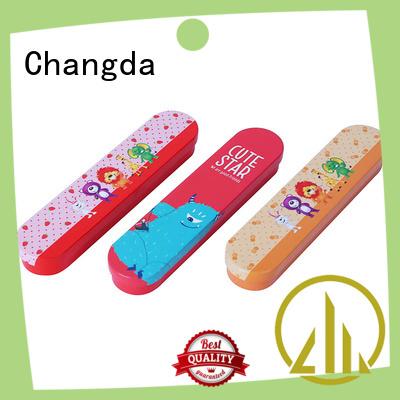 Changda high quality stationery tin box odm&odm factory supply