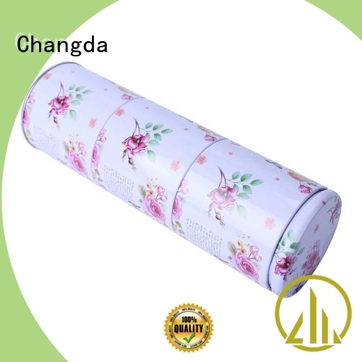Changda popular tea tins wholesale stainless for gift packing