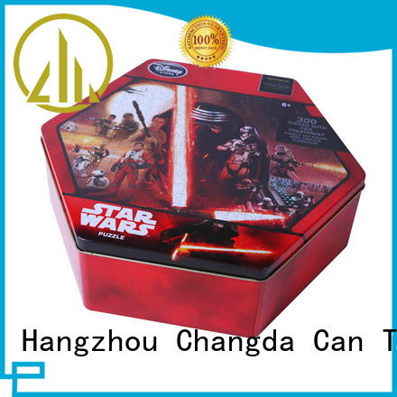 Changda puzzle tin for packing
