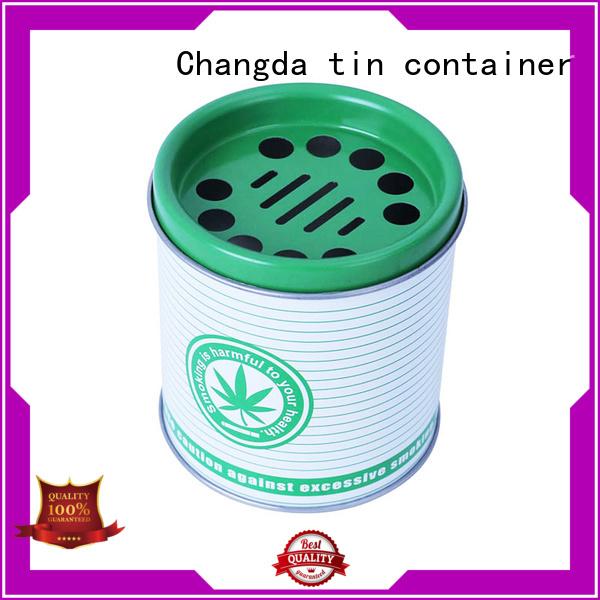 Changda food grade custom ashtrays oem&odm for packing