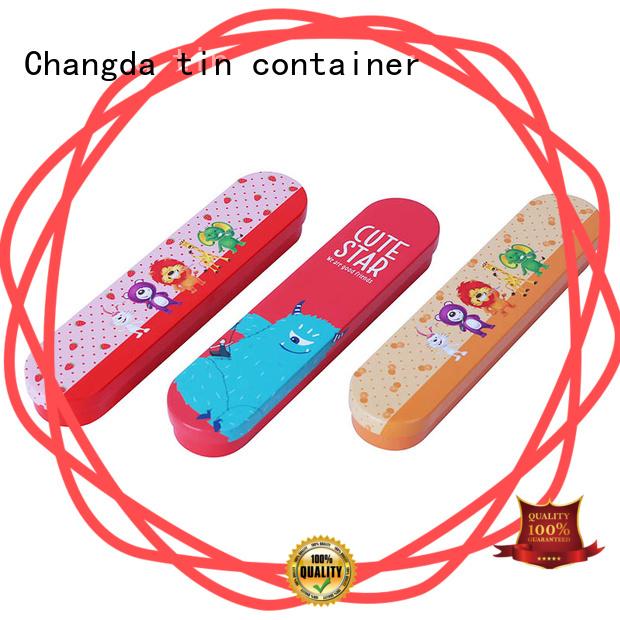 Changda stationery box custom factory supply