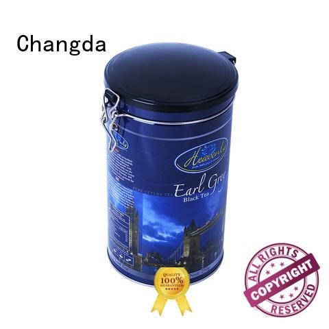 coffee tin box beautiful design for gift