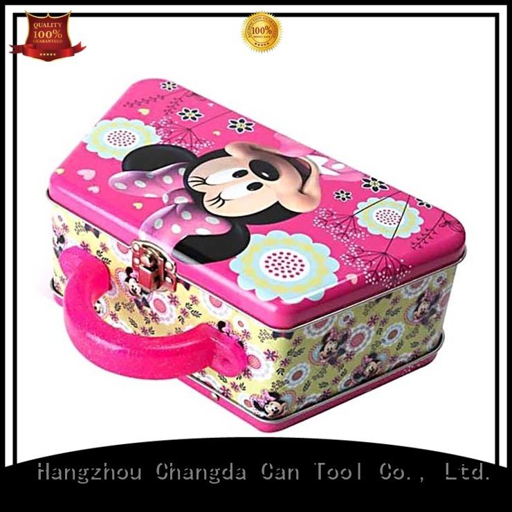 Changda best quality girls lunch box free sample
