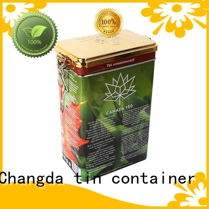 Changda tea tins wholesale durable for gift packing