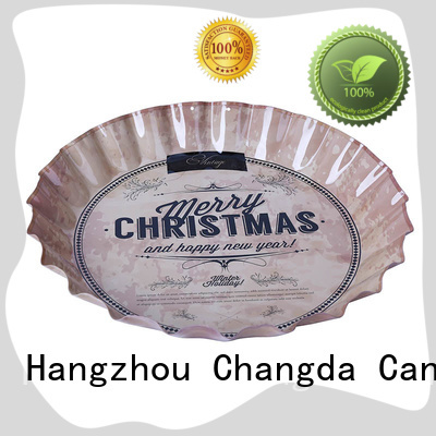 Changda stainless small tin trays for restuarant
