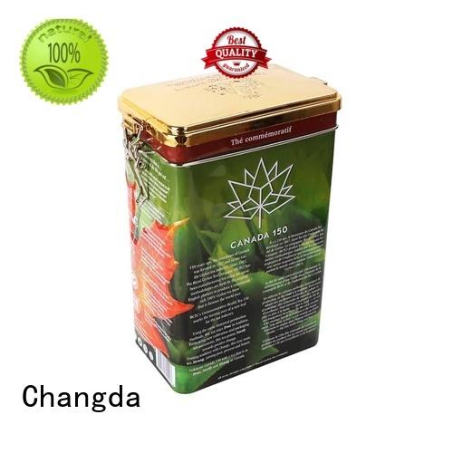 Changda bulk supply tea storage tins stainless