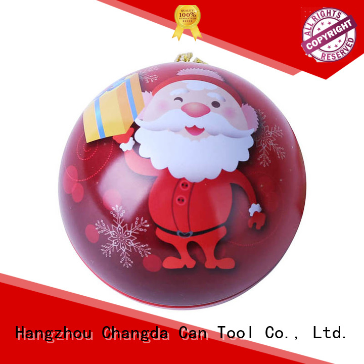 Changda latest red christmas balls trendy