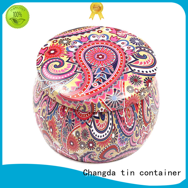 Changda high quality candy can bulk supply