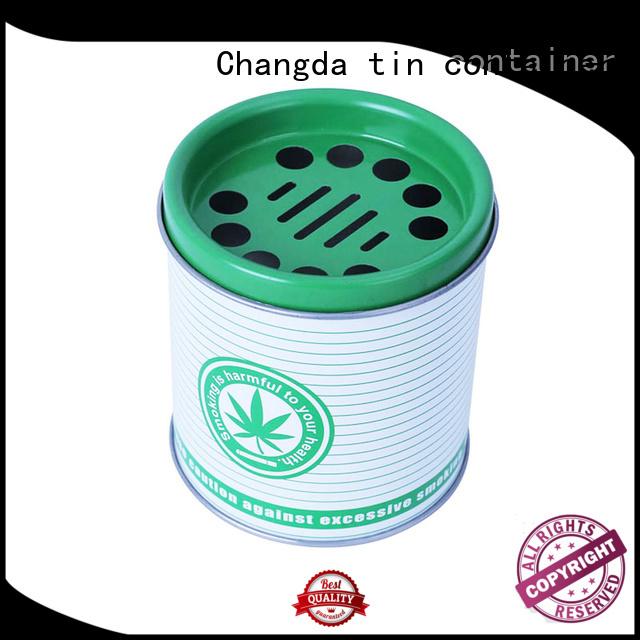 Changda stainless custom ashtrays oem&odm best factory supply
