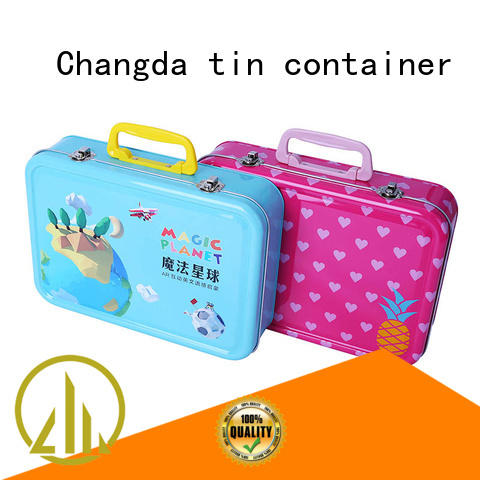 Changda tin lunch boxes factory price free sample