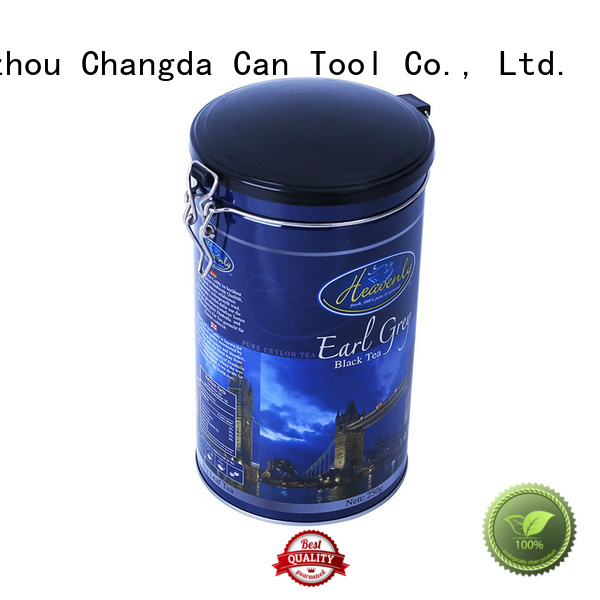 Changda hot-sale metal tins wholesale beautiful design for gift
