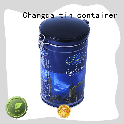 high quality coffee tin box light weight factory supply