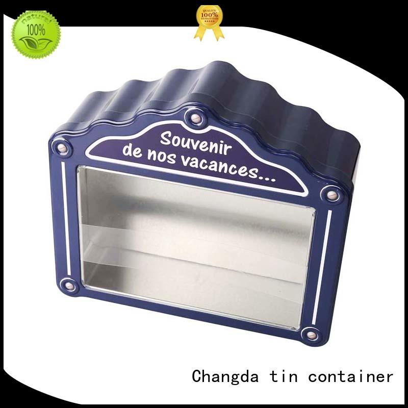 Changda gift tin boxes for bar