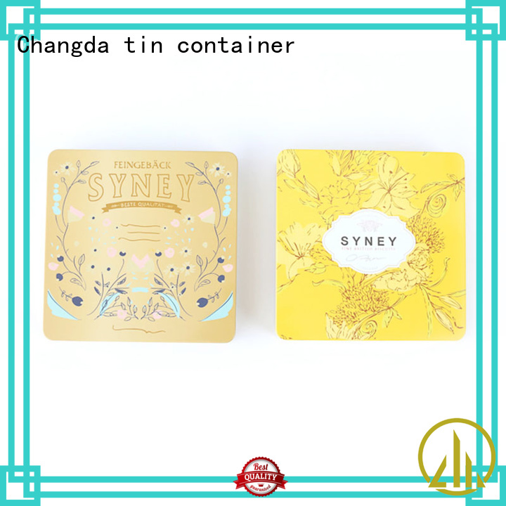 tin cosmetic containers