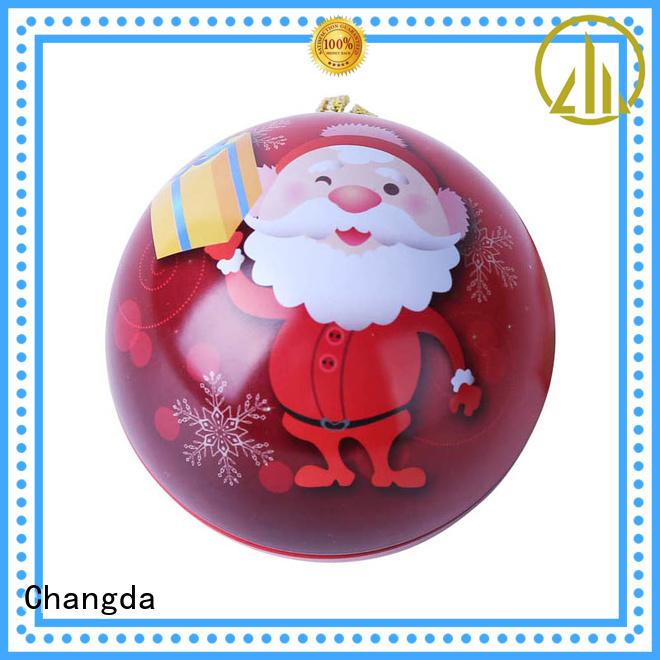 Changda hot-sale red christmas balls trendy