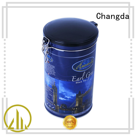 Changda coffee tin can fast delivery factory supply