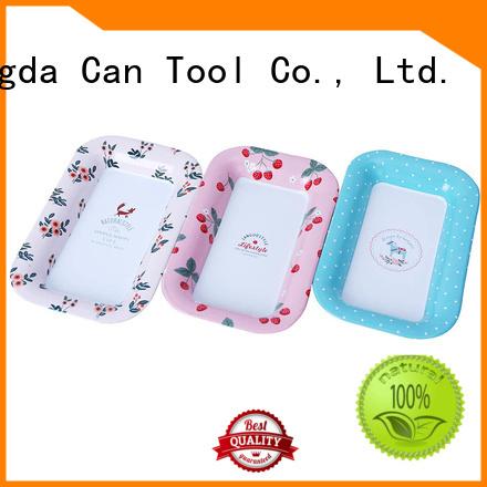 Changda food grade metal tray factory supply for bar
