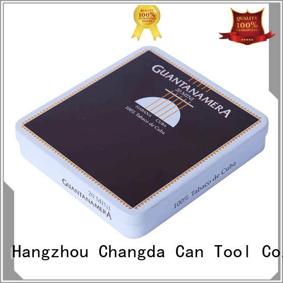 Changda hot-sale cigarette tin professional manufacturer best quality
