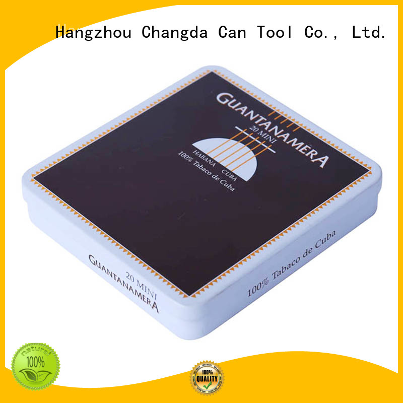 Changda cigarette tin box trendy for gift packing
